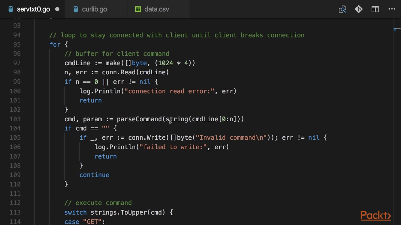 Download Network Programming with Go: A TCP Server with a Custom Protocol |packtpub.com