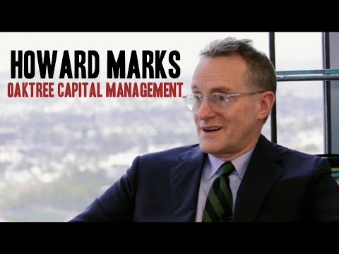 COC: Howard Marks, Co-Founder and Co-Chairman of Oaktree Capital Management