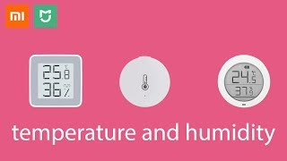 Xiaomi Mi Home temperature and humidity Sensor comparison!