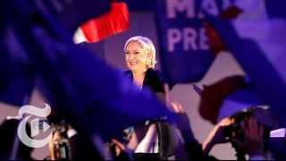In France, These Young Voters Dream Of A President Marine Le Pen | The New York Times