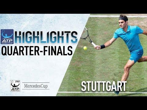 Highlights: Federer Flies Closer To No. 1 Stuttgart 2018
