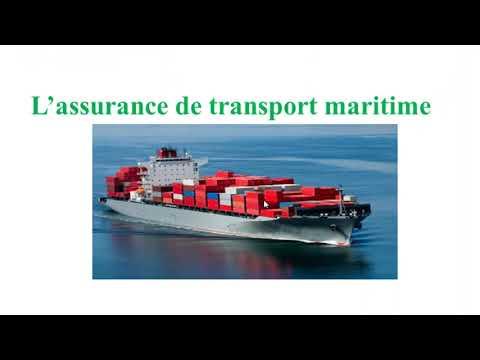L'assurance de transport Maritime