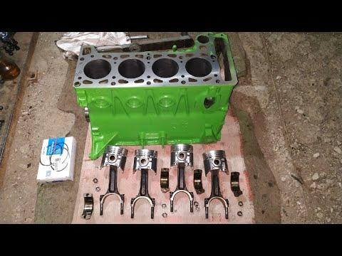 Сборка двигателя ваз 2101-2107 классика(Кап ремонт )