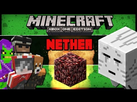 Minecraft: DAY 2 - R2D2 Translation, THE NETHER, Ghast, Blaze Summoning Song (Comedy Gaming)