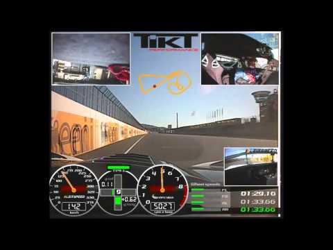 Start Zielgerade Marc Basseng mit der TIKT X³