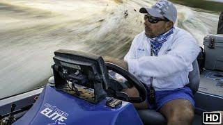 Largemouth Bass Fishing Florida Everglades Flats with MUSTAD