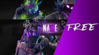 FREE FORTNITE BANNER TEMPLATE | SXD