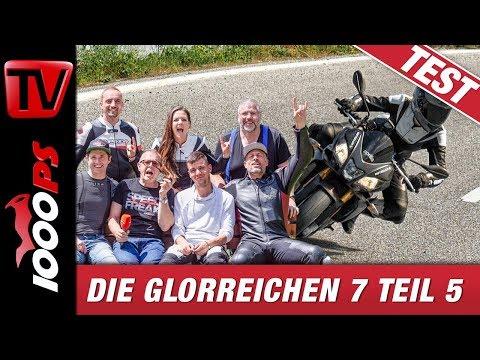 Aprilia Tuono V4 1100 RR 2019 Test - Nakedbike Wahnsinn oder V4 Traum?! Teil 6/8