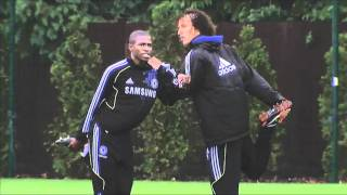 Chelsea FC - Cech back in training
