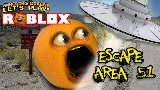 Roblox: Escape from Area 51 OBBY! [Annoying Orange Plays]