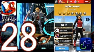 Spider-Man Unlimited Android Walkthrough - Part 28 - NEW Character Spider-Woman, Strikers