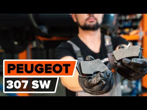 Как заменить задние тормозные колодки на PEUGEOT 307 (3H) [ВИДЕОУРОК AUTODOC]