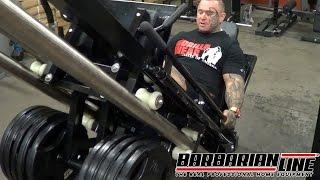 BARBARIAN Leg Press Hack Squat Machine with LEE PRIEST