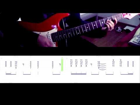 Red Hot Chili Peppers - Under The Bridge  (guitar cover) [with tabs]
