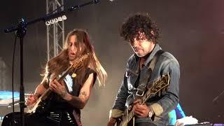 Yarol Poupaud et son groupe+ Nina Attal...derniers titres au Festival en Othe 2021
