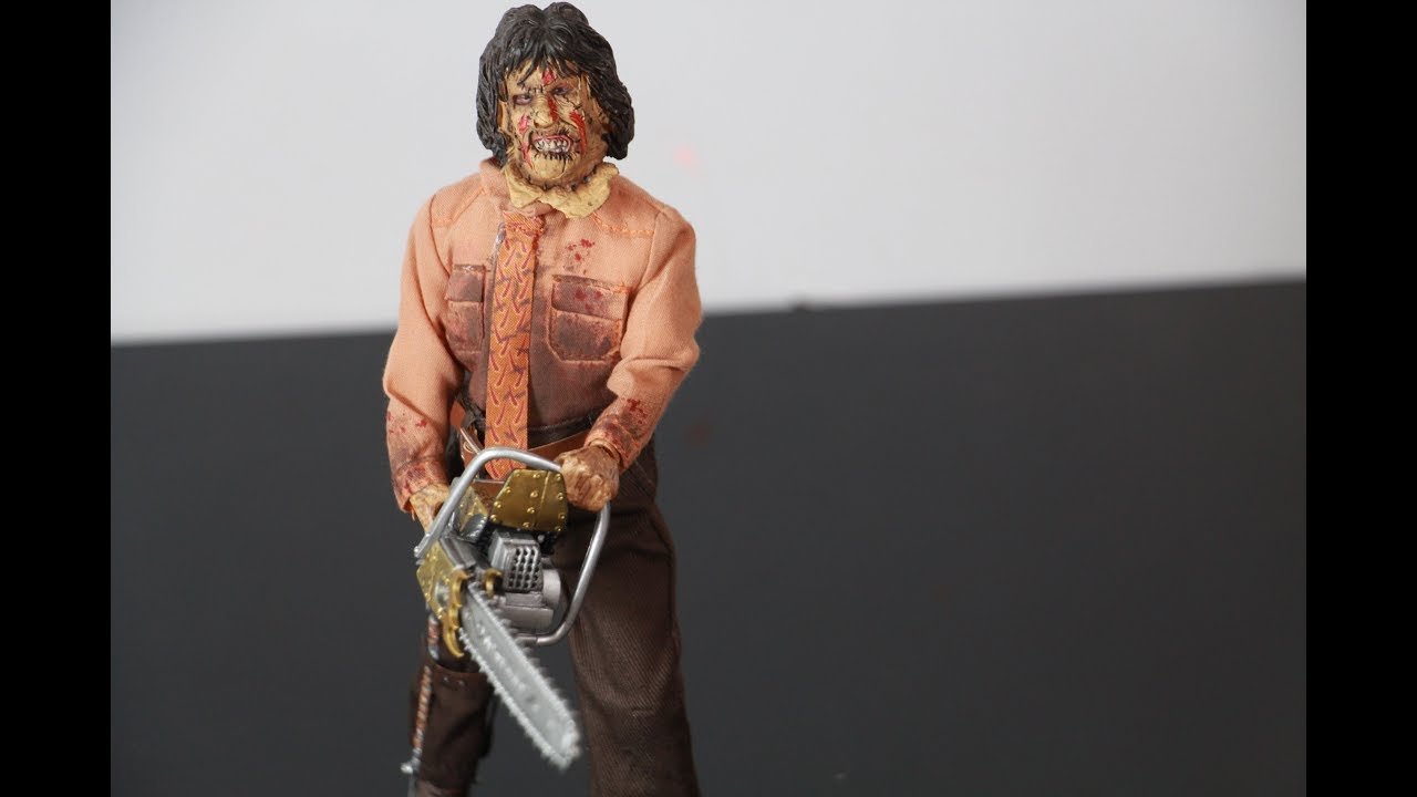 """THE TEXAS CHAINSAW MASSACRE PART 3 NECA LEATHERFACE 8/"""" CLOTHED FIGURE NEW"""