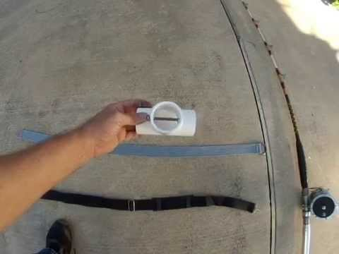 Homemade fighting belts for fishing youtube for Fish fighting belt