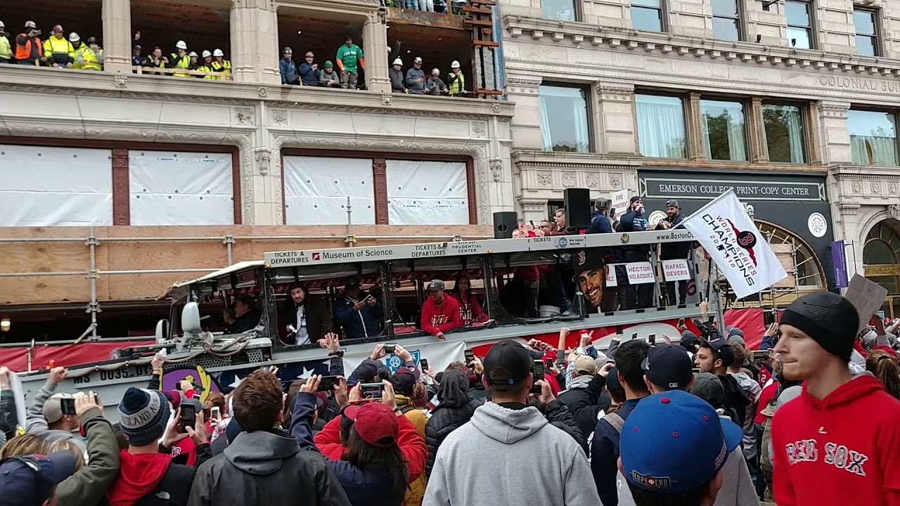 35f3d50163dbd9 Boston Red Sox 2018 World Series Victory Parade - Halloween 2018 - The  Players and Organization