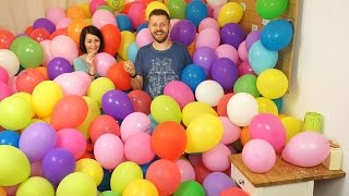 Handimania Blows up 1000 Balloons Live on Facebook