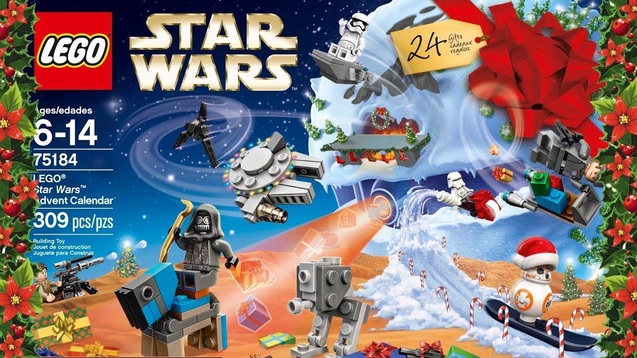 Calendario Adviento Lidl.Lego Star Wars Calendario Adviento Advent Calendar 2017
