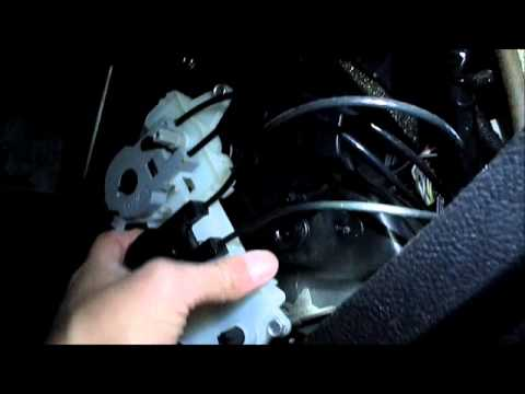 2007 Ford Focus Vent Selector Bypass Manualy Adjust Your