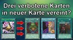 Yu-Gi-Oh! - Drei verbotene Karten werden in neuer Karte vereint!