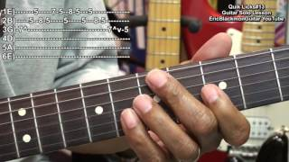 Quik Licks #13 How To Play Blues Solo Riffs On Guitar EricBlackmonGuitar HD