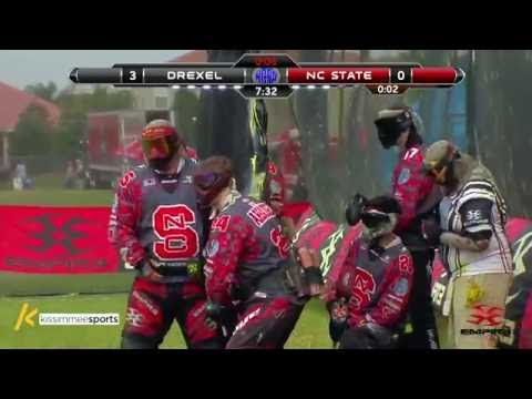 North Carolina State University vs. Drexel University - 2016 NCPA College Paintball Ocho-Finals
