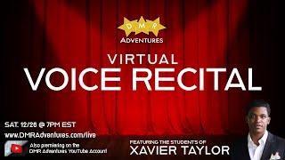 Winter Virtual Studio Recital