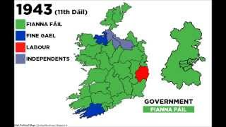 Irish Political Maps: Who Do We Vote For? (HD)
