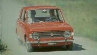German roadtest Fiat 128 - 1969