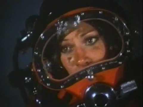 Actress Pamela Hensley In Kirby Morgan Lite Diving Helmet