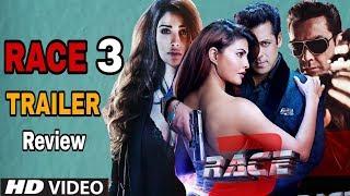 Race 3 Official Trailer | Review of Freddy Daruwala | Salman Khan, Jacqueline Fernandez