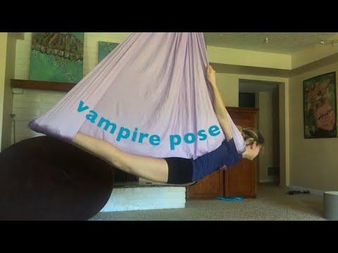 Aerial Silk Vampire Tutorial