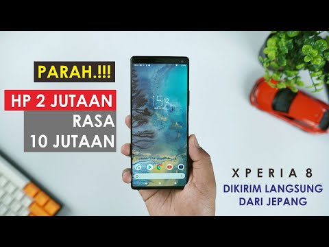 Beli SONY XZ3 di 2020   Unboxing SONY XPERIA XZ3 Indonesia.