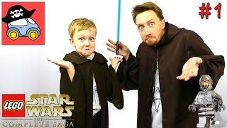 👽 #1 ПЕРЕГОВОРЫ. Lego Star Wars The Complete Saga. Призрачная угроза — Жестянка. Летсплей