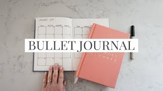 Simple & Minimal Way To Bullet Journal (+GIVEAWAY)