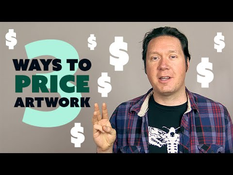 3 Ways to PRICE Your Artwork (Digital Artist Vlog)