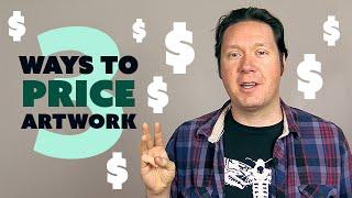3 Ways to PRICE Your Artwork (Digital Artist Vlog)