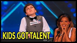 3 YES! *THE BEST TALENTED KIDS* EVER on America's Got Talent and Britain's Got Talent!