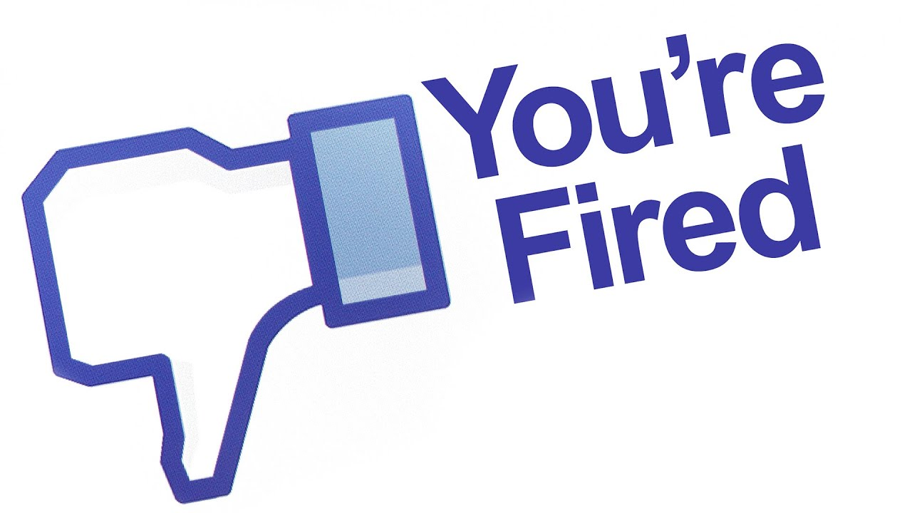 w fired before first day of job for facebook post