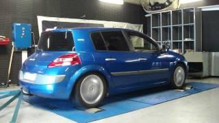 Reprogrammation moteur Renault megane 2 dci 130cv @ 169cv dyno digiservices