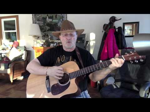 1411 -  Listen To The Radio -  Don Williams cover with guitar chords and lyrcis