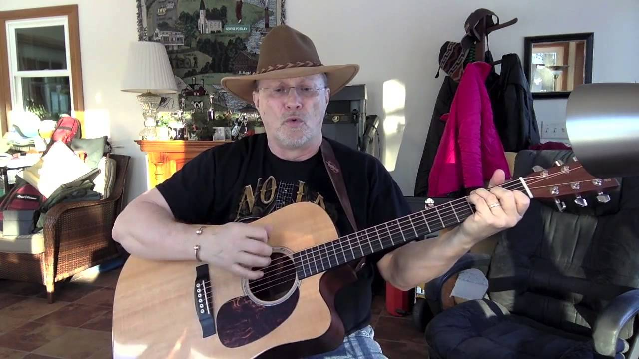 1411 Listen To The Radio Don Williams Cover With Guitar Chords