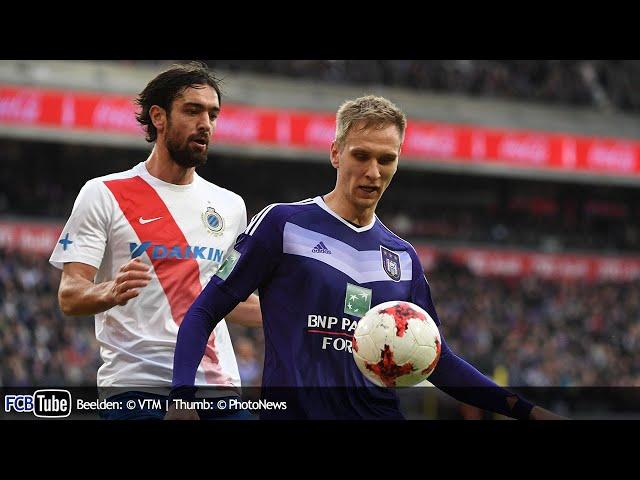 2016-2017 - Jupiler Pro League - 18. RSC Anderlecht - Club Brugge 0-0
