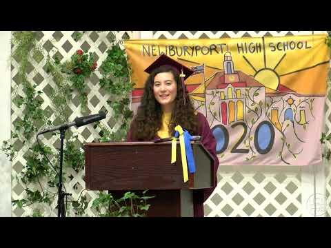 Newburyport High School Ivy Day Ceremony 2020