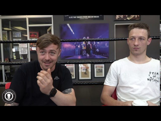 SA BOXING TALK | Post Fight Brandon Thysse and Damien Durandt