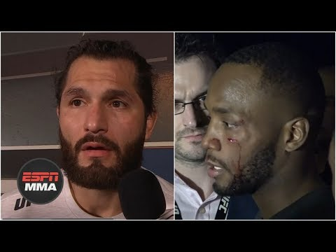 Jorge Masvidal, Leon Edwards involved in backstage fight   ESPN MMA