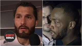 Jorge Masvidal, Leon Edwards involved in backstage fight | ESPN MMA