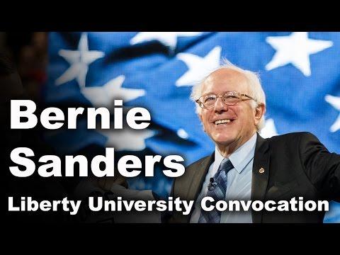 U.S. Senator Bernie Sanders - Liberty University Convocation